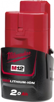 Milwaukee M12B2 Akku 2.0 Ah